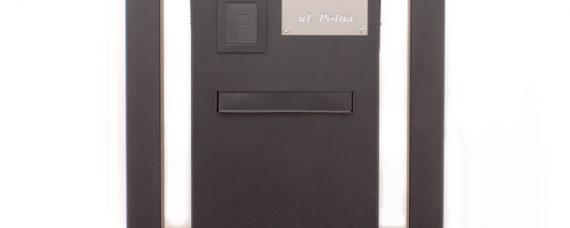skrzynka na listy z wideofonem leelen