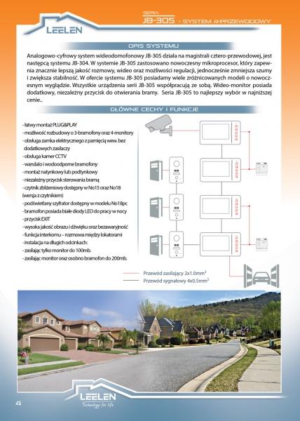 Jednorodzinny system JB305